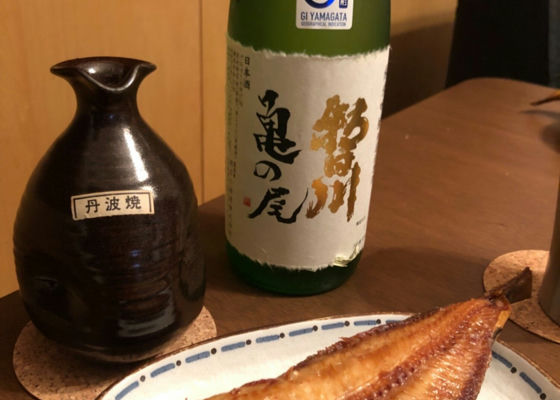 朝日川 純米吟醸無濾過原酒 亀の尾
